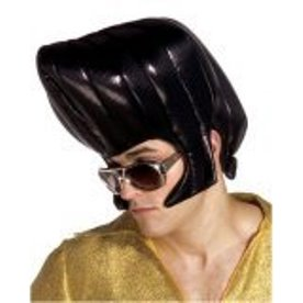 Horrible Elvis Halloween Wig