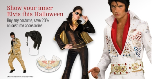 Show Your Inner Elvis at Halloween