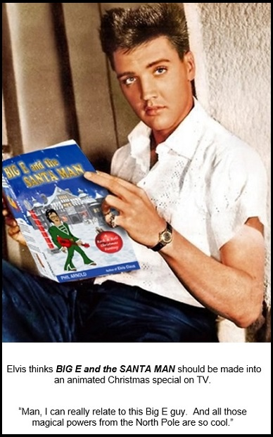 Elvis Reading BIG E