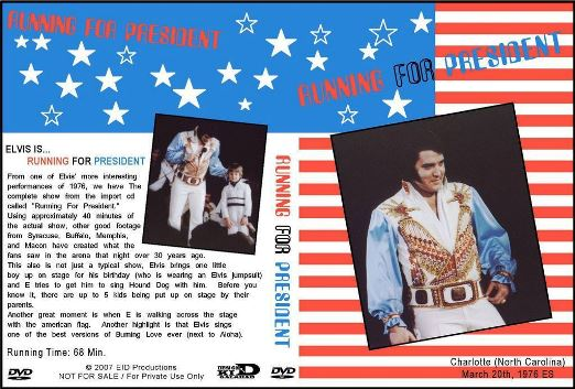 Elvis Running for President DVD