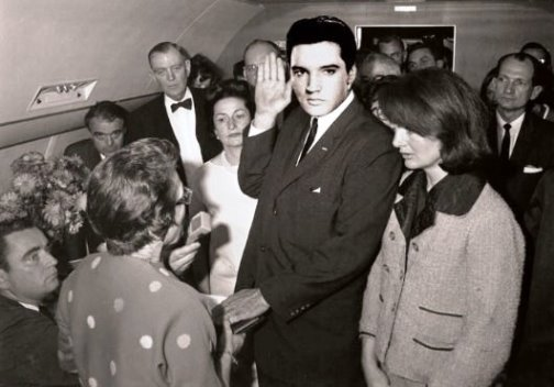 Elvis Sworn in as President