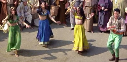 Elvis and Belly Dancers in Harum Scarum