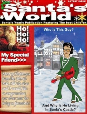 Santa's World Cover - Smaller