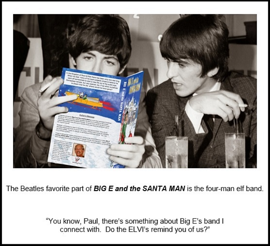 The Beatles Reading Big E and the Santa Man