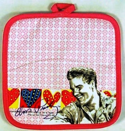 Elvis Pot Holder