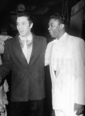 Elvis and BB King