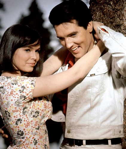 Elvis and Yvonne Craig in Kissin' Cousins