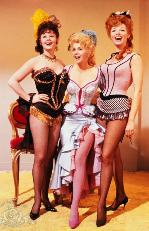 Sue Ane Langdon, Donna Douglas, Nancy Kovack in-Frankie and Johnny