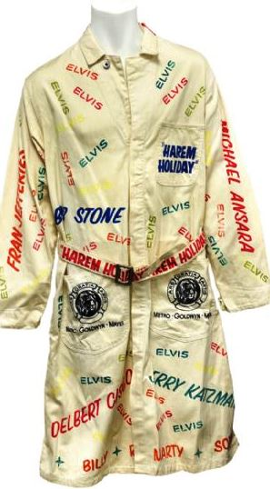 1965 Colonel Tom Parker Harem Holiday Robe Worn on the Set of Film Harum Scarum