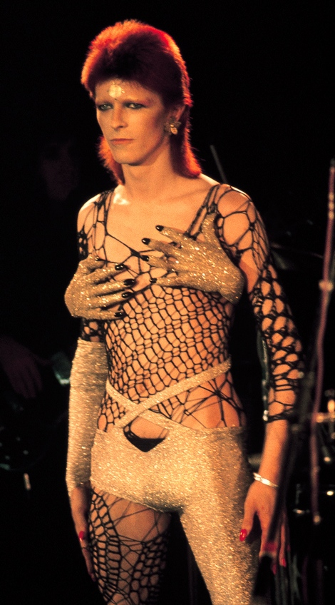 David Bowie in Costume