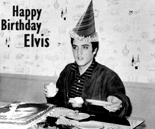 Elvis Birthday Party Hat