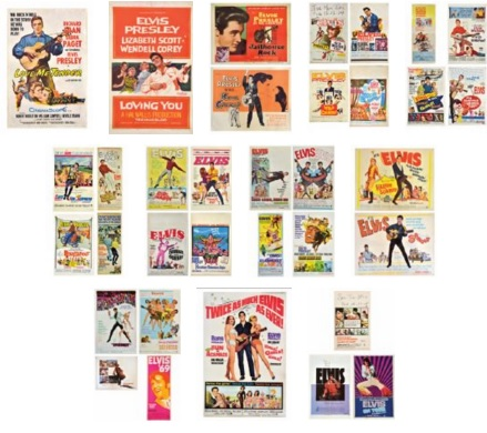 Lot 41 All of the Elvis Movie Posters