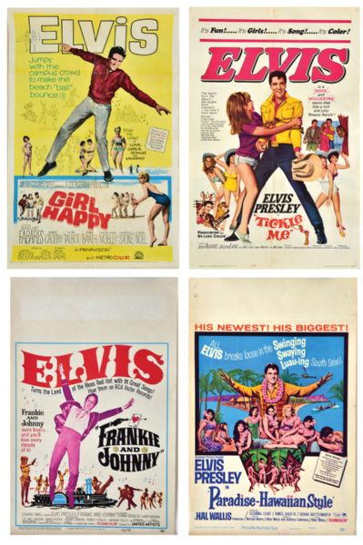 Elvis Movie Lobby Cards