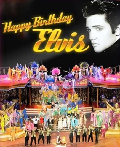 Viva Elvis Happy Birthday