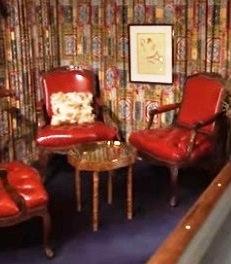 Chairs and Table in Elvis' Graceland Pool Room