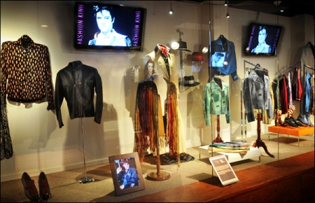 Graceland Fashion King Exhibit
