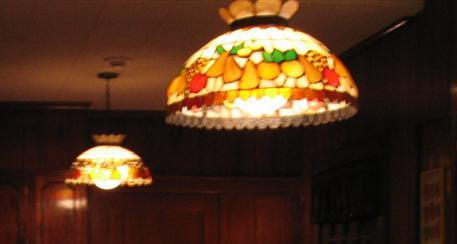 Light Fixtures in Elvis' Graceland Kitchen