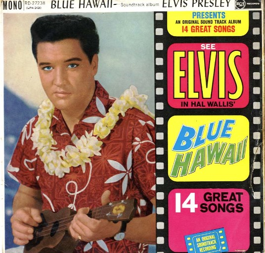 Elvis Presley - Blue Hawaii Album