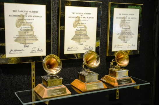 Elvis Presley's Three Grammy Awards