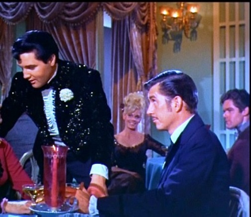 Elvis and Riverboat Owner in Frankie and Johnny