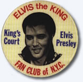 Elvis Button Bruce Springsteen wore on Born to Run Cover