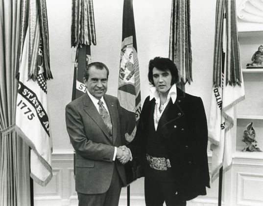 Elvis Meets Nixon - The Official Picture