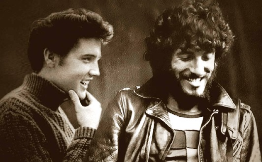 Elvis and Young Bruce Springsteen