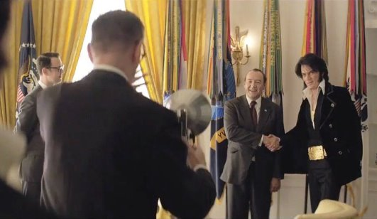 Photographer Taking Official Photograph of Elvis Meeting Nixon
