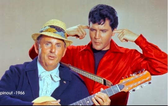 Col. Parker and Elvis
