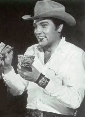 Elvis and Handfuls of Money