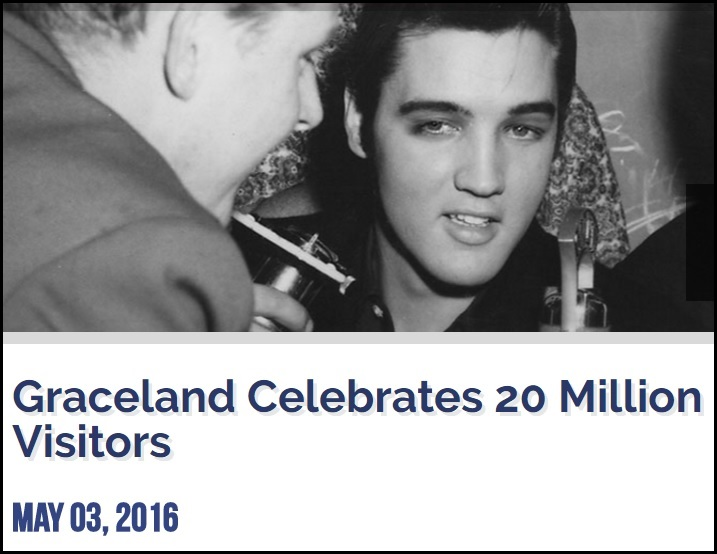 Graceland Celebrates 20 Million Visitors