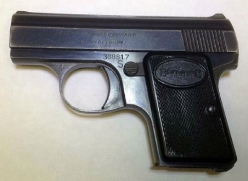 Elvis Baby Browning Semi-Automatic Pistol