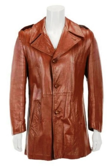 Elvis Presley Brown Leather Jacket