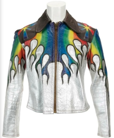 Elvis Presley's Painted Leather Jacket