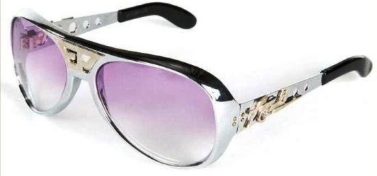 Elvis Presley's Personalized Sunglasses