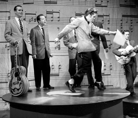 Elvis Shaking Those Hips on Milton Berle Show
