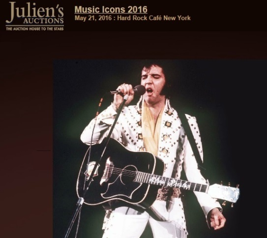 Julien's Music Icons 2016