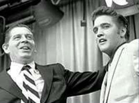 Milton Berle and Elvis
