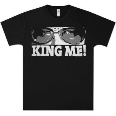 Elvis, King Me T-shirt