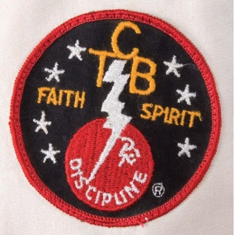 Elvis' TCB Patch on his Karate Gi
