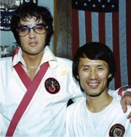 Elvis With Kang Rhee
