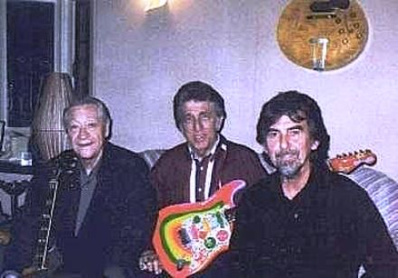 Scotty, DJ and George Harrison
