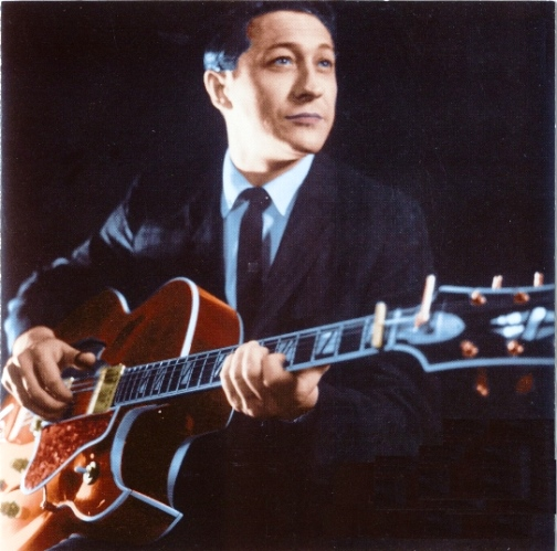 Scotty Moore and 63 Gibson Super 400