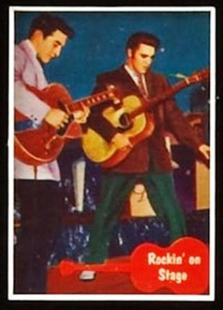Scotty on Elvis Trading Card