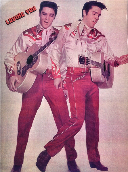 Double Elvis in Loving You Outfit