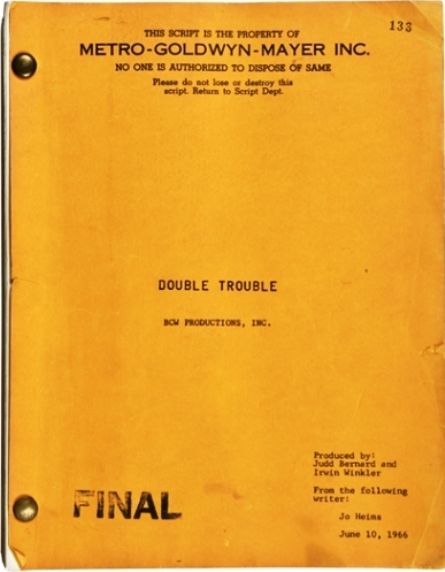 Elvis - Double Trouble Final Script