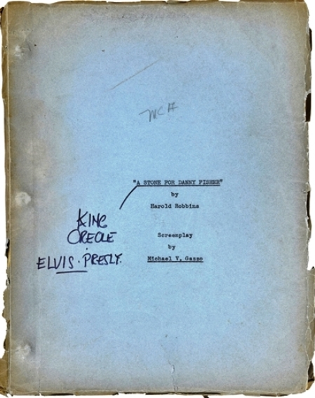 Elvis - King Creole Early Production Screenplay