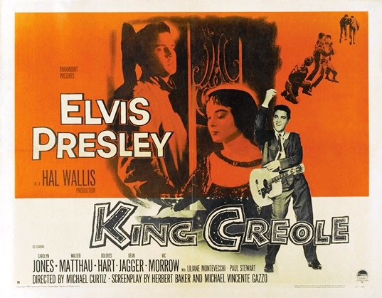 Elvis - King Creole Movie Poster
