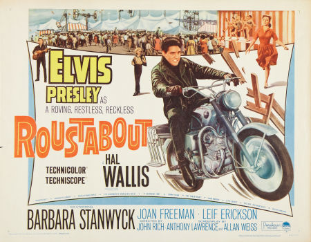 Elvis - Roustabout Movie Poster