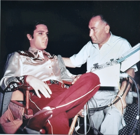 Elvis Seated Wearing Loving You Pants